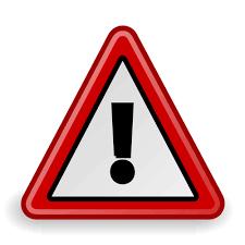 10959 free warning symbol clip art   Public domain vectors