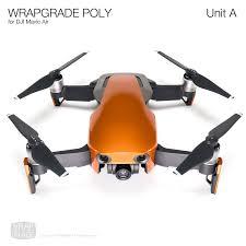 Wrapgrade Poly Skin For Dji Mavic Air Unit A Wrap Decal Mavic The Unit Dji