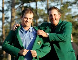 Masters golf champion Zach Johnson ...