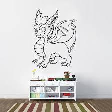 Spyro The Dragon Skylander Inspired Vinyl Wall Decal Sticker Cosmic Frogs Vinyl