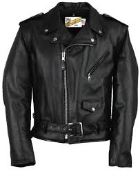 mens clic leather motorcycle jacket