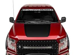 Sec10 F 150 Matte Black Hood Decal T527964 15 20 F 150 Excluding Raptor Black Hood Truck Graphics Matte Black