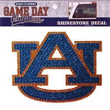 Auburn Tigers Rhinestone Bling Window Decal Sticker My Team Depot