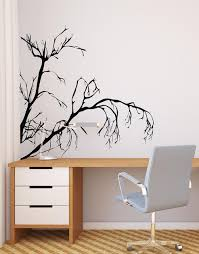 Weeping Tree Branches Vinyl Wall Decal Ac147 Stickerbrand