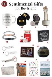 15 sentimental gifts for your boyfriend