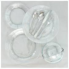 clear dinnerware jaxsondecorating co