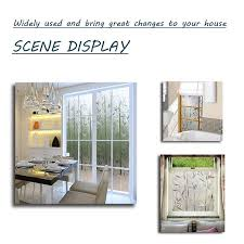 Lemon Cloud Bamboo Window Film Stained Glass Film Frosted Privacy Window Decal Decorative Window Cling No Glue Removable Window Stickers 17 7 X 78 7 Inch 17 7in By 78 7in Walmart Com Walmart Com