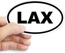 Amazon Com Cafepress Lax Lacrosse Sticker Oval Bumper Sticker Euro Oval Car Decal Home Kitchen