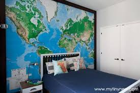 World And Travel Themed Boy S Room Themed Kids Room Boy Room Room Themes