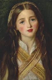 Alice Gray by Millais (his wife Effie Gray's sister)   Pre raphaelite,  Getty museum, Art