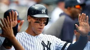 New York Yankees' Aaron Judge arrives ...