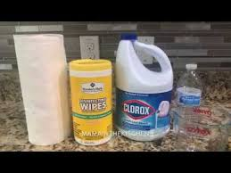 diy homemade disinfectant wipes