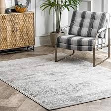 Silver Area Rugs 8x10