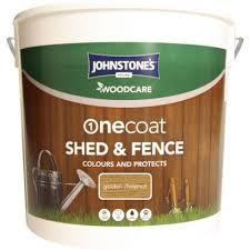 Johnstone S Shed And Fence 5ltr Kis Uk