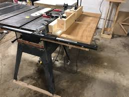 Finished My Router Table Wing For My Craftsman 113 Turned Out Great And Will Work Until I Buy A New Fence Syste Craftsman Table Saw Build A Table Router Table