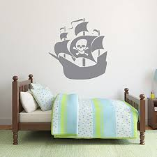 Pirate Ship Wall Decal Vinyl Sticker For Kids Customvinyldecor Com