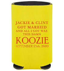 10 places to find wedding koozies
