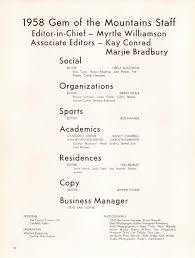 1958 Gem of the Mountains, Volume 56 - University of Idaho Yearbook by  University of Idaho Library - issuu