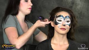 y cat makeup how to y black cat