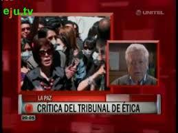 Tribunal Nacional de Ética Periodística deplora decisión del Gobierno –  eju.tv