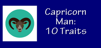 personality traits of the capricorn man