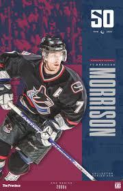 """Vancouver Canucks """"2000's"""" Brendan Morrison"""