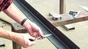 3 Of 5 Diy Table Saw Guide Rails For A Biesemeyer Style Table Saw Marking Drilling Milling Youtube