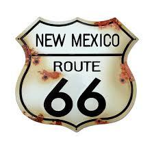 Route 66 Vinyl Sticker New Mexico Rt 66 Sticker Emblem Guerrilla Graphix