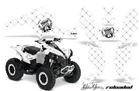 Atv Decal Graphics Kit Quad Wrap For Can Am Renegade 500 X R 800x R 10 All Terrain Depot