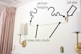 bathroom mirror over tile wainscoting