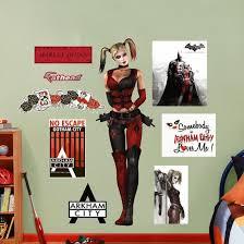 Dc Comics Harley Quinn Arkham City Wall Decal Sticker Wall Decal Allposters Com