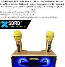 TOP 3 LOA CÔNG SUẤT LỚN - TẶNG MIC KARAOKE - Loa Bluetooth karaoke mini -  Loa Sd 301 + 2 Míc Cro Cao Cấp 2019,Âm Thanh Chất Lượng,Bảo Hành 1 đổi 1