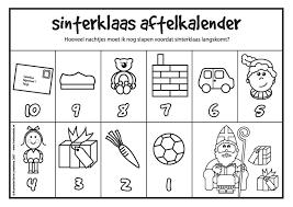Sinterklaas Aftelkalender Hoeveel Nachtjes Slapen Nog