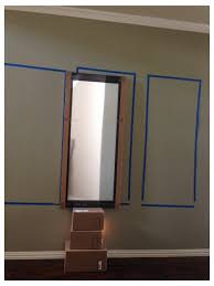 how high should these mirrors be hung