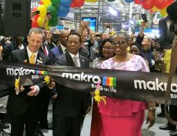 thousands gather for opening of makro