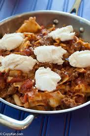 skillet lasagna a better hamburger helper