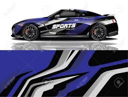 Sport Car Decal Wrap Design Vector Sport Car Decal Wrap Design Royalty Free Cliparts Vectors And Stock Illustration Image 141886756