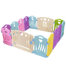 Amazon Com Gallity Foldable Baby Play Fence 14 Panel Kids Activity Center Portable Play Yard Indoor And Outdoor Baby Fence Safe Play Yard Play Pen Best Birthday Christmas Gift For