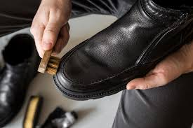 shoe polish stains on clothes and carpet
