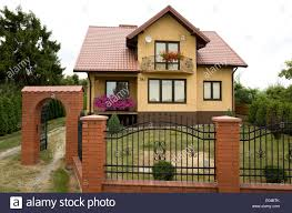 Iron And Brick Fence High Resolution Stock Photography And Images Alamy