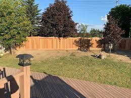 Cedar Sound Barrier Fence I Built Woodworking