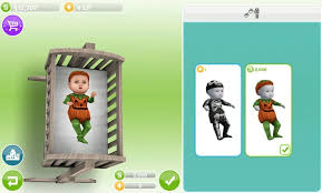 sims freeplay baby costume sims baby