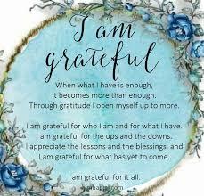 i m grateful grateful quotes gratitude affirmations i am