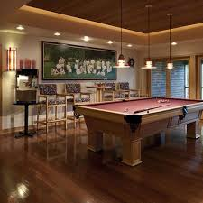 pool table room design pictures