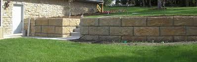 big block retaining wall blocks and