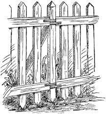 Picket Fence Illustration Fence Illustration Picket Fence Illustration Illustrationfence Picket In 2020 Picket Fence Fence Art White Picket Fence