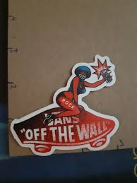 Vans Off The Wall Sticker Free Yellow Red Car Decal Design Australia Amazon Laptop Large Vamosrayos