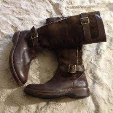 ugg shoes tall leather boots poshmark
