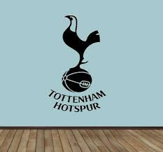 Football Wall Car Sticker Decal Sticker Any Size Colour Tottenham Hotspur F C