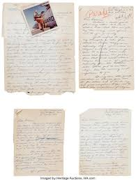 Jack Swigert Archive of Letters to Actress Dolores Hart, 1961-1963. | Lot  #40214 | Heritage Auctions